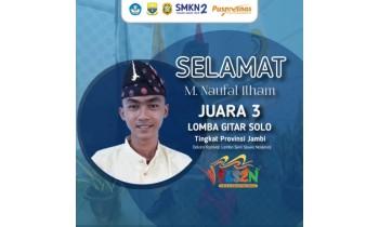 Juara 3 Gitar Solo Tingkat Provinsi FLS2N 2021